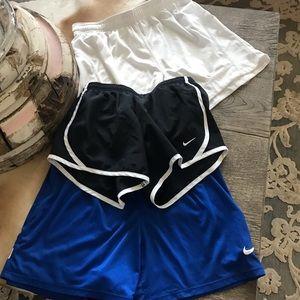 Bundle of Three Nike Dri-Fit Shorts Women/Girl